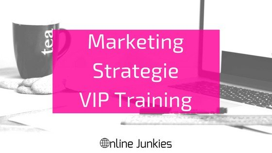 Marketing Strategie VIP Training