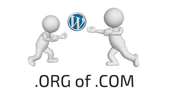 WordPress.com of WordPress.org?