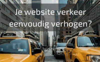 Je website verkeer eenvoudig verhogen?